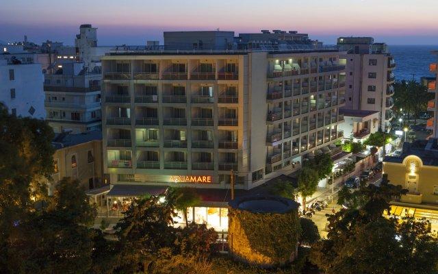 Отель Aquamare Hotel Греция, Родос - отзывы, цены и фото номеров - забронировать отель Aquamare Hotel онлайн вид на фасад