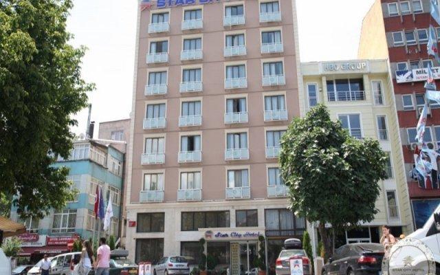 Star City Hotel Турция, Стамбул - отзывы, цены и фото номеров - забронировать отель Star City Hotel онлайн вид на фасад
