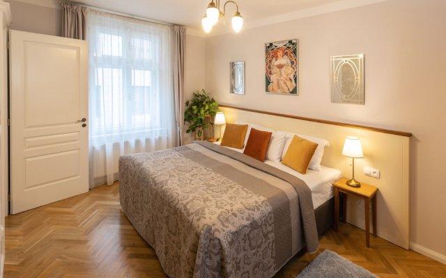 Отель SeNo 6 Apartments Чехия, Прага - отзывы, цены и фото номеров - забронировать отель SeNo 6 Apartments онлайн комната для гостей