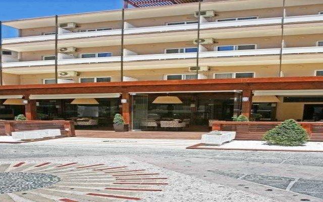 Отель LYDIA Родос вид на фасад