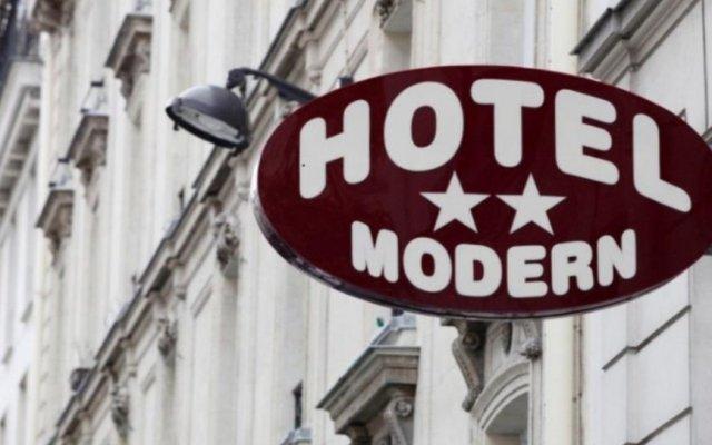 Modern Hotel вид на фасад
