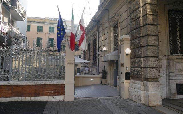 Hotel Cantore Генуя вид на фасад