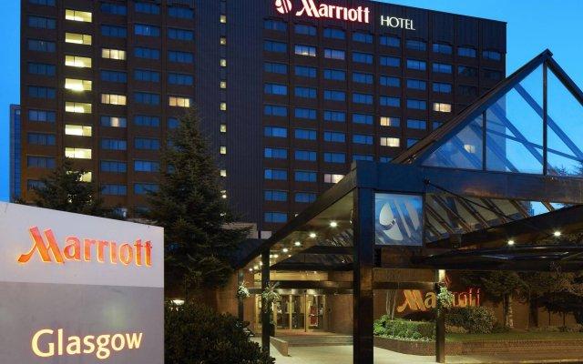 Glasgow Marriott Hotel вид на фасад