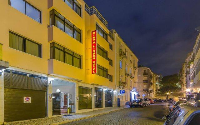 Dinya Lisbon Hotel вид на фасад
