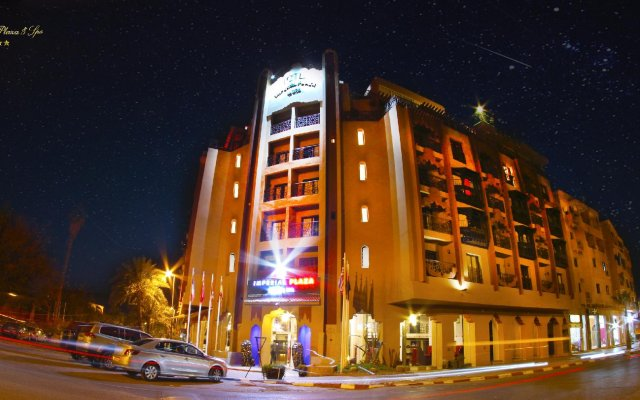 Отель Imperial Plaza Hotel Марокко, Марракеш - 2 отзыва об отеле, цены и фото номеров - забронировать отель Imperial Plaza Hotel онлайн вид на фасад