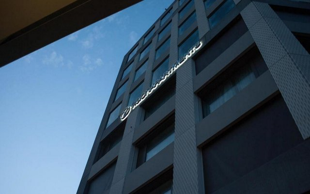 Отель VISIONAPARTMENTS Zurich Wolframplatz вид на фасад