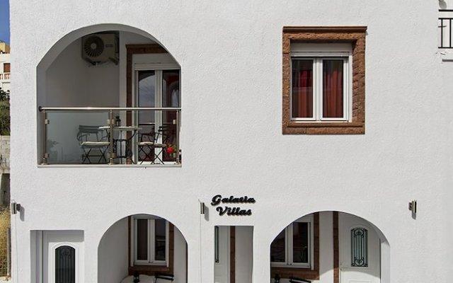 Отель Galatia Villas вид на фасад