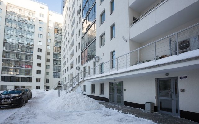 Апартаменты Apartment Etazhy Tokarey-Kraulya Екатеринбург вид на фасад
