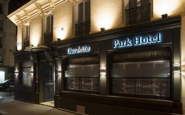 Отель Gardette Park Hotel Франция, Париж - 8 отзывов об отеле, цены и фото номеров - забронировать отель Gardette Park Hotel онлайн вид на фасад