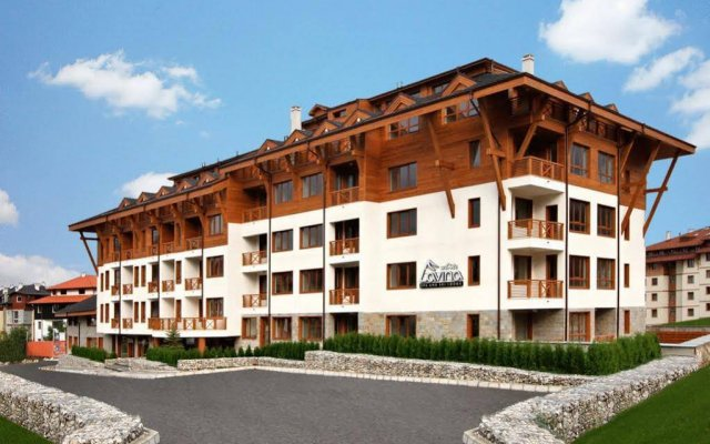 Отель White Lavina Spa and Ski Lodge вид на фасад