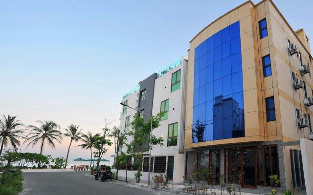 Отель Turquoise Residence by UI Мальдивы, Мале - отзывы, цены и фото номеров - забронировать отель Turquoise Residence by UI онлайн вид на фасад