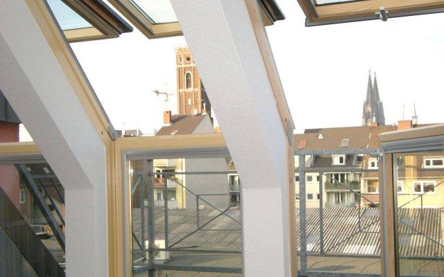Отель a-partments Германия, Кёльн - отзывы, цены и фото номеров - забронировать отель a-partments онлайн вид на фасад