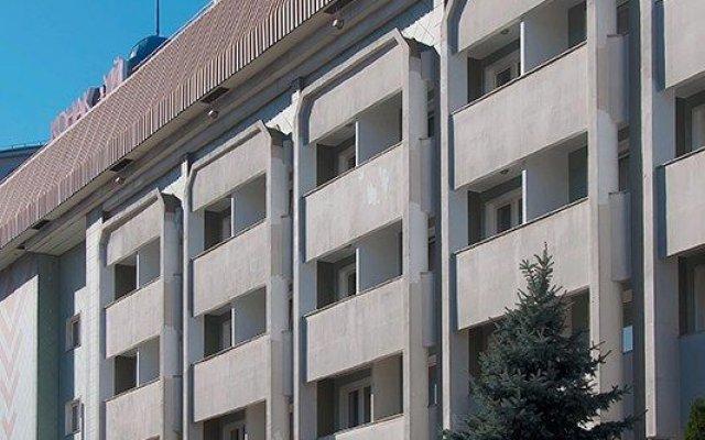 Международный Отель Астана Алматы вид на фасад