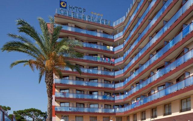 Отель H·TOP Calella Palace & SPA вид на фасад