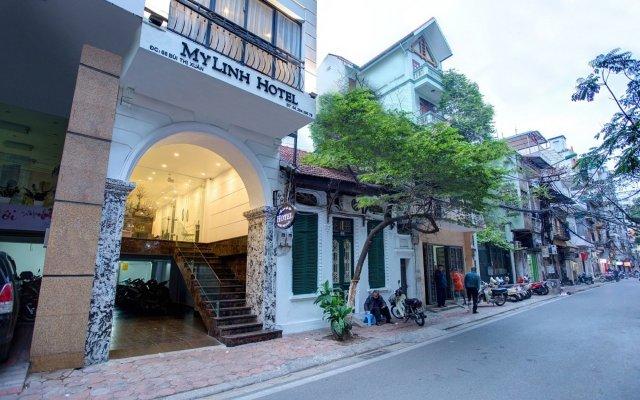 Отель My Linh Hotel Вьетнам, Ханой - отзывы, цены и фото номеров - забронировать отель My Linh Hotel онлайн вид на фасад