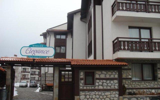Отель Winslow Elegance Hotel Болгария, Банско - отзывы, цены и фото номеров - забронировать отель Winslow Elegance Hotel онлайн вид на фасад