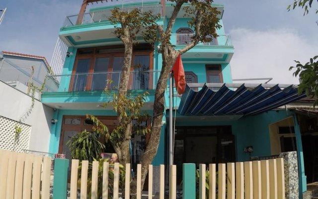 Отель Maison Azzurra вид на фасад