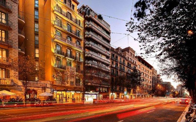 Отель HCC Taber Испания, Барселона - 1 отзыв об отеле, цены и фото номеров - забронировать отель HCC Taber онлайн вид на фасад