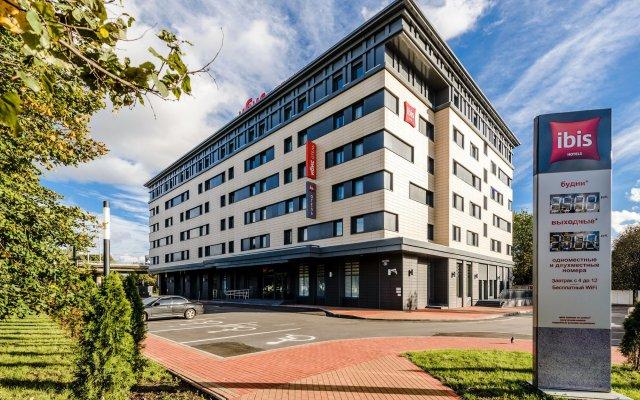 Гостиница Ibis Калининград Центр вид на фасад