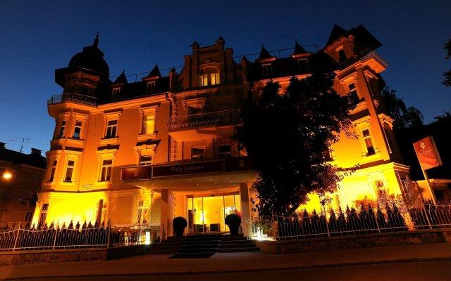 Отель Villa Carlton Зальцбург вид на фасад