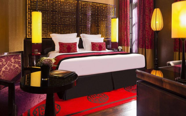 Buddha-Bar Hotel Paris комната для гостей