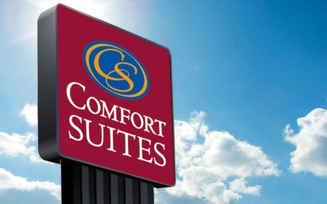Отель Comfort Suites Columbus Airport США, Колумбус - отзывы, цены и фото номеров - забронировать отель Comfort Suites Columbus Airport онлайн вид на фасад