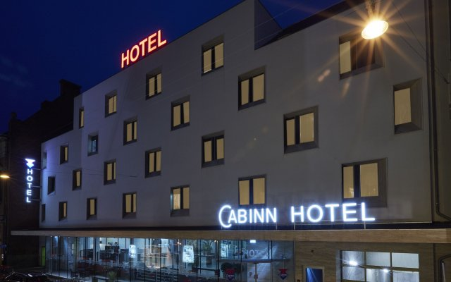 Отель Cabinn Aarhus Hotel Дания, Орхус - 2 отзыва об отеле, цены и фото номеров - забронировать отель Cabinn Aarhus Hotel онлайн вид на фасад