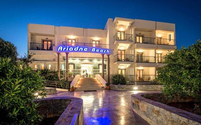 Ariadne Beach Hotel вид на фасад