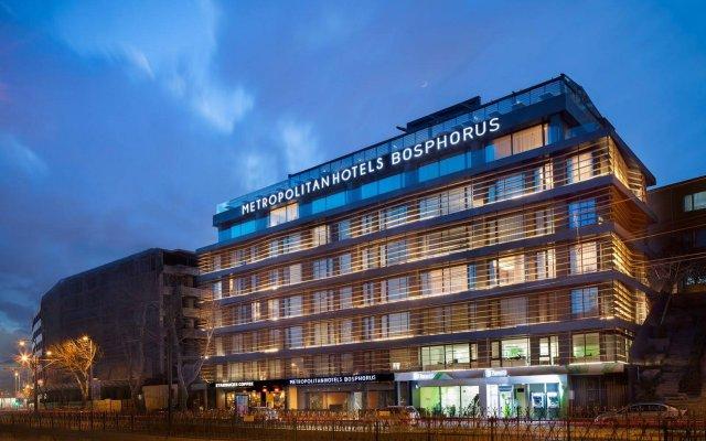 Отель Metropolitan Hotels Bosphorus вид на фасад