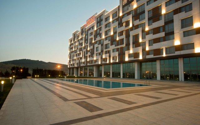 Miracle Istanbul Asia Турция, Стамбул - 1 отзыв об отеле, цены и фото номеров - забронировать отель Miracle Istanbul Asia онлайн вид на фасад