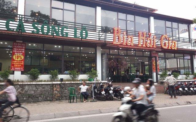 Отель Vinh's Home вид на фасад