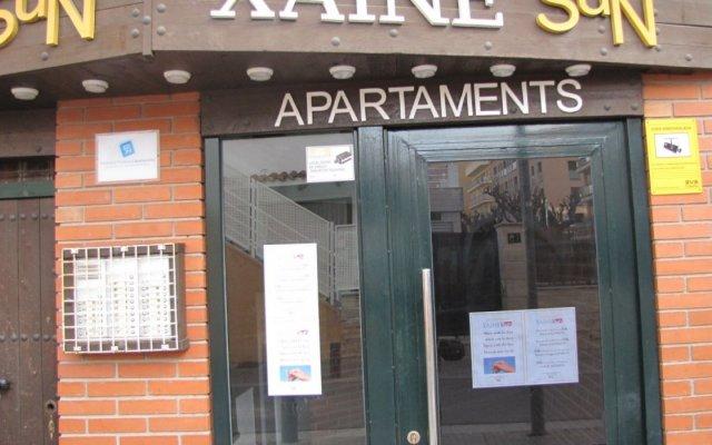 Отель Apartamentos Sun & Moon (Ex Xaine Sun) Испания, Льорет-де-Мар - отзывы, цены и фото номеров - забронировать отель Apartamentos Sun & Moon (Ex Xaine Sun) онлайн вид на фасад