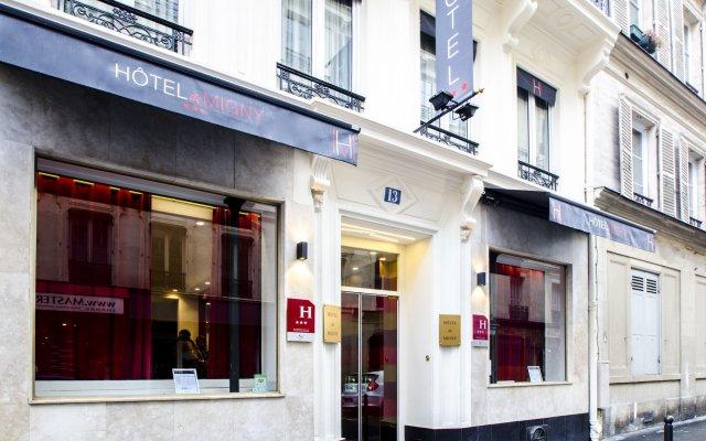 Отель Migny Opera Montmartre (Ex. Migny) Париж вид на фасад