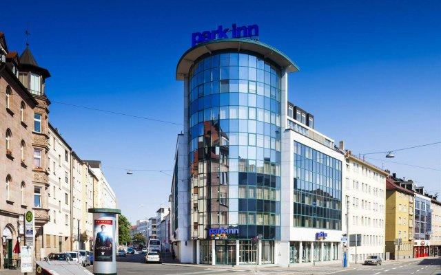 Отель Park Inn by Radisson Nuremberg вид на фасад