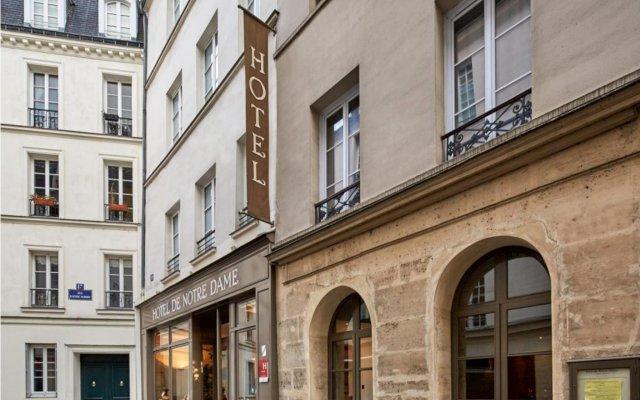 Hotel De Notre Dame Maître Albert вид на фасад