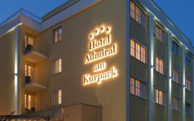 Hotel Admiral am Kurpark вид на фасад