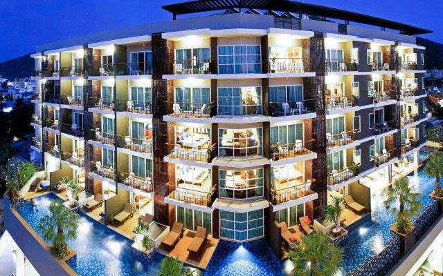 Отель Andakira Hotel Таиланд, Пхукет - отзывы, цены и фото номеров - забронировать отель Andakira Hotel онлайн вид на фасад