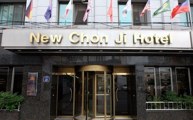 Отель New Chonji Hotel Южная Корея, Сеул - отзывы, цены и фото номеров - забронировать отель New Chonji Hotel онлайн вид на фасад