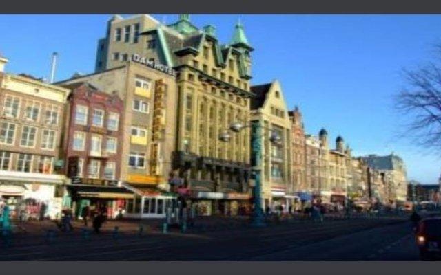 Отель Budget Dam Hotel Нидерланды, Амстердам - отзывы, цены и фото номеров - забронировать отель Budget Dam Hotel онлайн вид на фасад