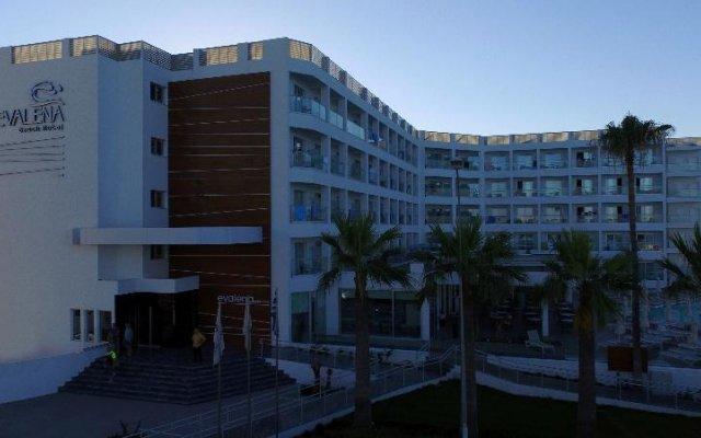 Evalena Beach Hotel вид на фасад