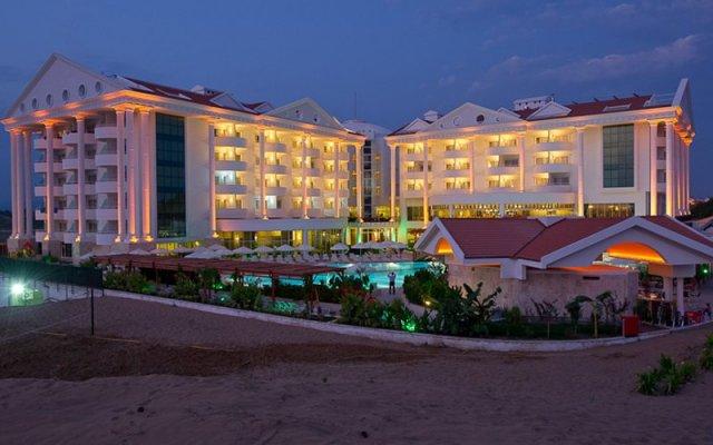 Отель Roma Beach Resort & Spa Сиде вид на фасад