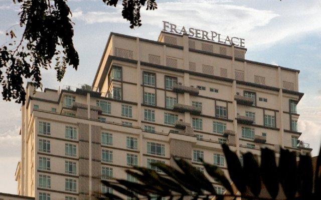Отель Fraser Place Kuala Lumpur Малайзия, Куала-Лумпур - 2 отзыва об отеле, цены и фото номеров - забронировать отель Fraser Place Kuala Lumpur онлайн вид на фасад