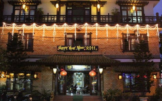 Thanhbinh Ii Antique Hotel Хойан вид на фасад