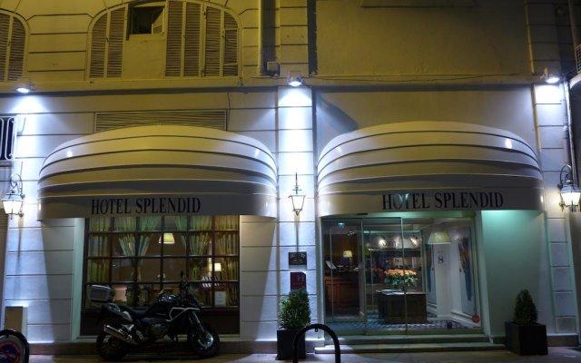 Отель Splendid Cannes Франция, Канны - 8 отзывов об отеле, цены и фото номеров - забронировать отель Splendid Cannes онлайн вид на фасад