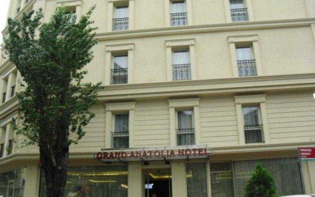 Grand Anatolia Hotel вид на фасад
