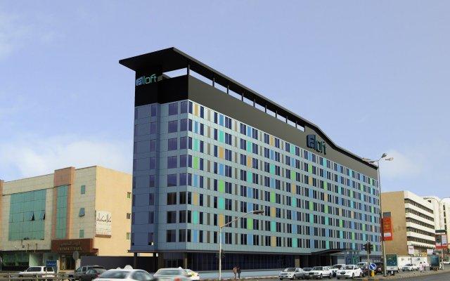 Отель Aloft Riyadh вид на фасад