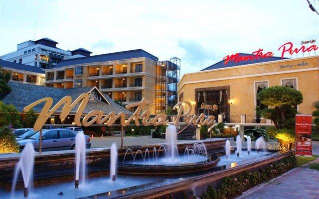 Отель Mantra Pura Resort Pattaya вид на фасад