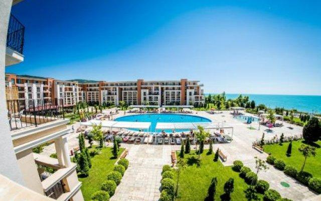 Отель Prestige Sands Resort вид на фасад
