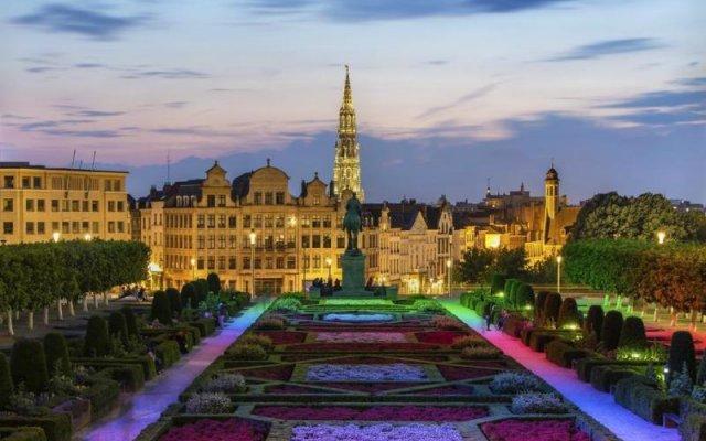Отель Sun Hotel Бельгия, Брюссель - 1 отзыв об отеле, цены и фото номеров - забронировать отель Sun Hotel онлайн вид на фасад