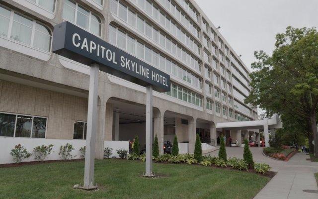 Отель Capitol Skyline США, Вашингтон - отзывы, цены и фото номеров - забронировать отель Capitol Skyline онлайн вид на фасад